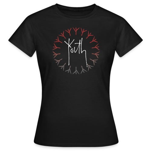 Youth Film Logo Red/Grey - Women's T-Shirt