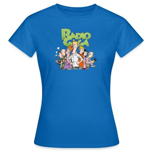 Radio Gaga-redaksjonen - T-skjorte for kvinner