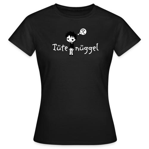 Tütenüggel (Kölsch, Karneval, Köln) - Frauen T-Shirt