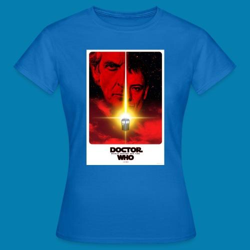 Twelfth Doctor and the Master poster - Maglietta da donna