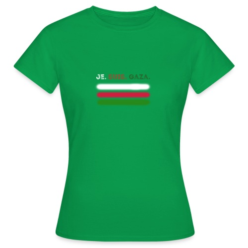 Je Suis Gaza - Dame-T-shirt