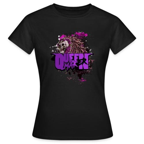 QM SKULL - T-shirt dam