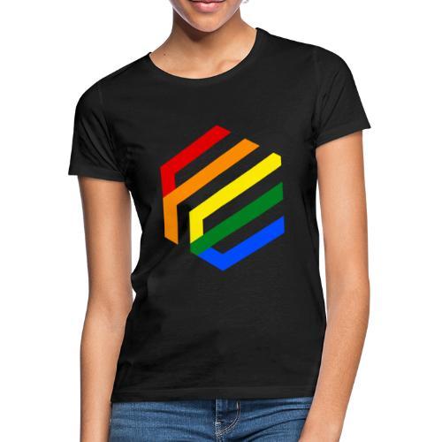 Rainbow Fusion logo - Vrouwen T-shirt