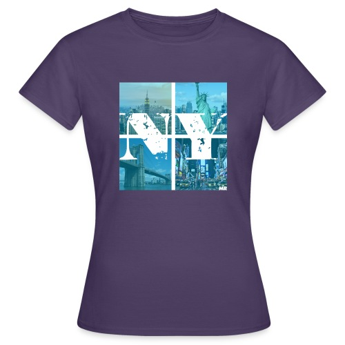 NEW YORK BLUE - Frauen T-Shirt