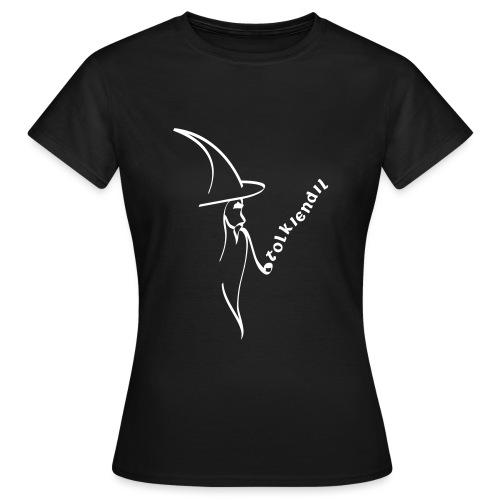magicien calligraphie tolkiendil - T-shirt Femme