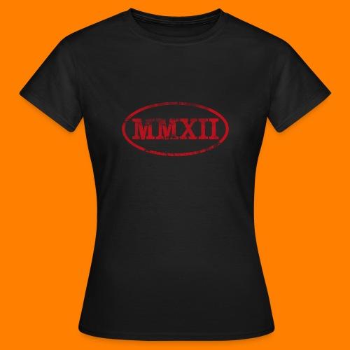 MMXII grungie - Women's T-Shirt