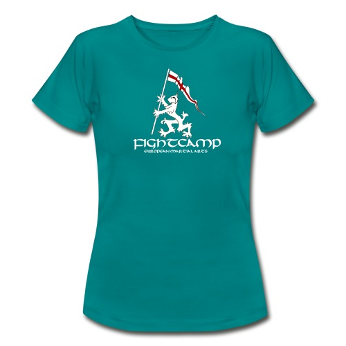 FightCamp Logo T Shirt transparent with text png - Women's T-Shirt