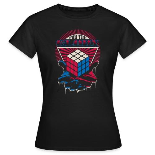 Rubik's For The Glory - T-shirt dam