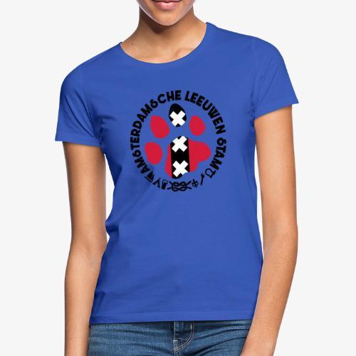 ALS witte cirkel lichtshi - Vrouwen T-shirt
