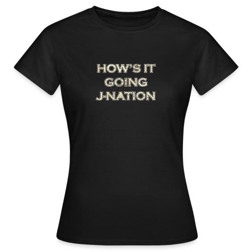 J nation - Women's T-Shirt