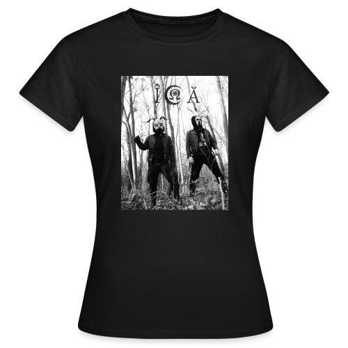 ICA Bandfoto 2019 - Frauen T-Shirt