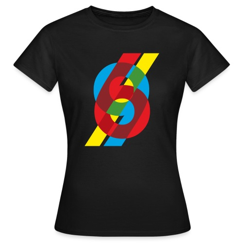 colorful numbers - Women's T-Shirt