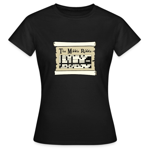 Middle Riddle - Women's T-Shirt