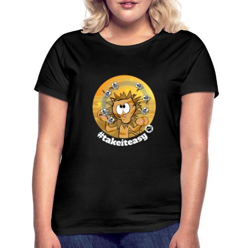 Astrokatze Löwe - Frauen T-Shirt