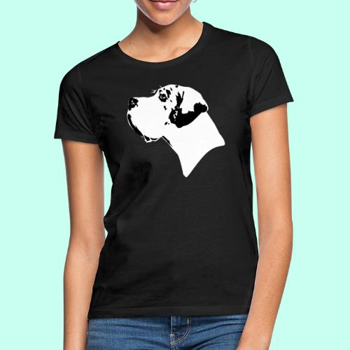 buster_pur_2f - Frauen T-Shirt