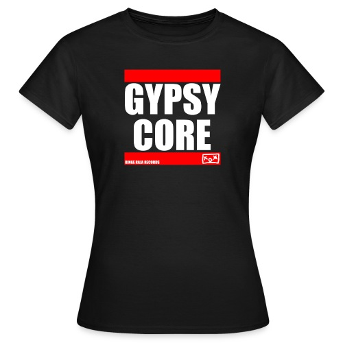 rrr gypsycore white final - Frauen T-Shirt