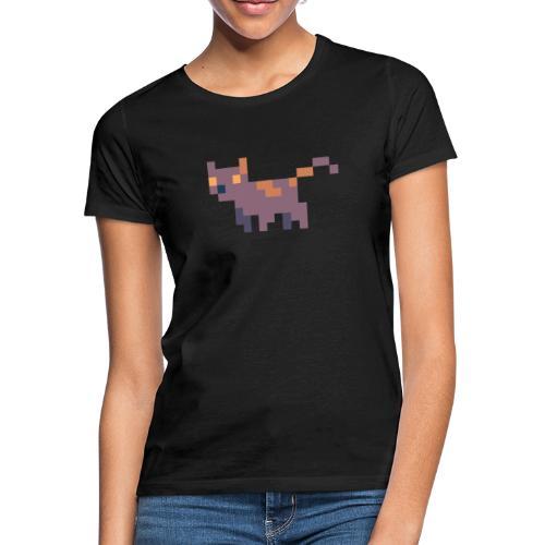 Pixel cat - T-shirt dam