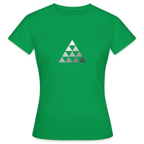 TRIANGLE FADE 2 - Maglietta da donna