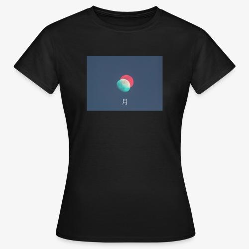 Moon glitch - Maglietta da donna