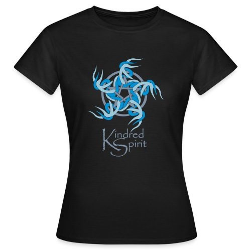 Kindred Spirit Symbol with Words - Women's T-Shirt