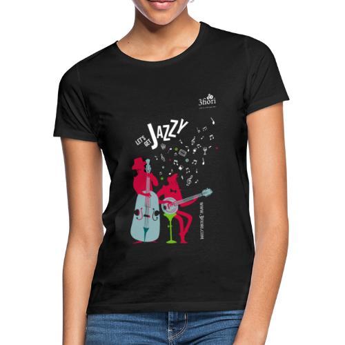 3Jazzy Blumen - Frauen T-Shirt