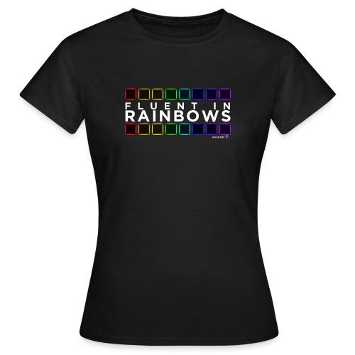 Fluent In Rainbows // Kaskobi - Women's T-Shirt