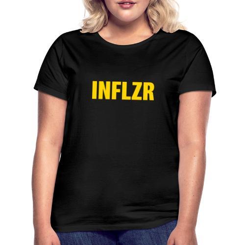 INFLZR yellow - Frauen T-Shirt