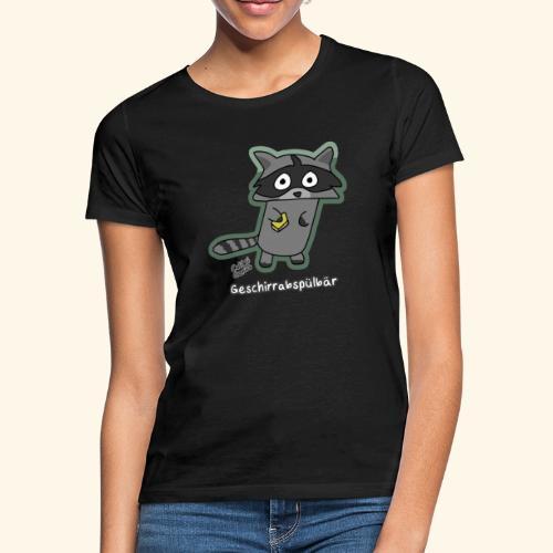 Geschirrabspülbär - Frauen T-Shirt