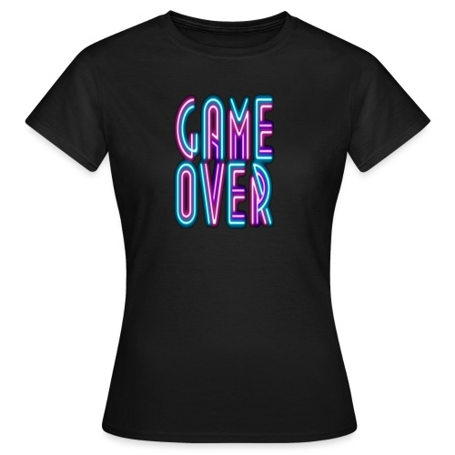 Game Over - Camiseta mujer