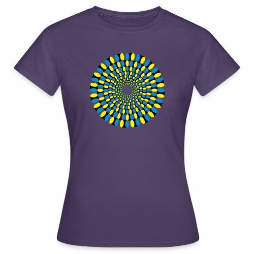 Optische Taeuschung - Frauen T-Shirt