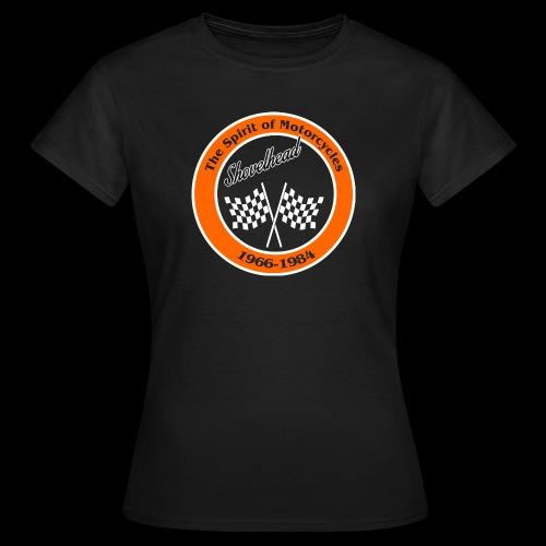 Zielflagge Shovelheat - Frauen T-Shirt