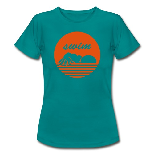 swim! Schwimmer Kraulen - Frauen T-Shirt