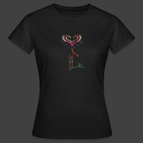 Feuerwerk - Frauen T-Shirt