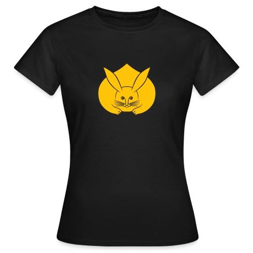 Usagi kamon japanese rabbit yellow - Women's T-Shirt