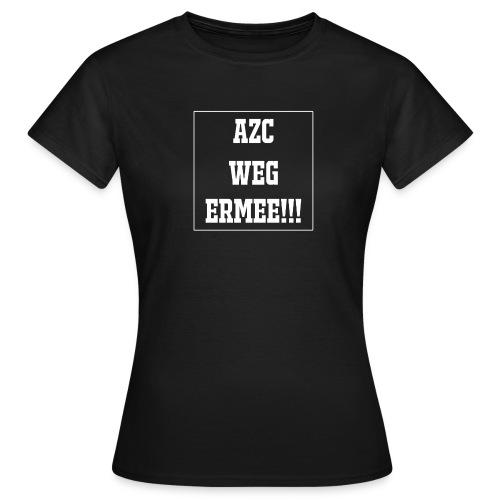 Protest t-shirt tegen de vluchtelingen. - Vrouwen T-shirt