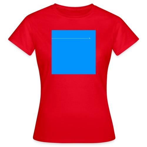 sklyline blue version - T-shirt Femme