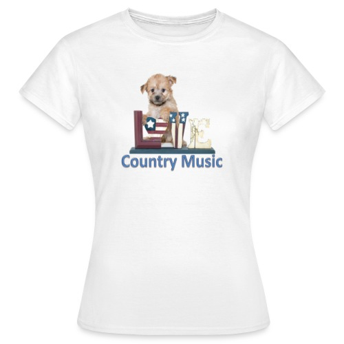 countrydog-png - Maglietta da donna
