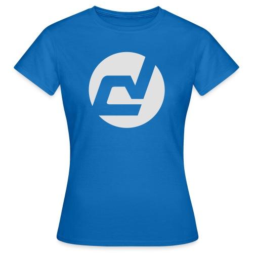 logo blanc - T-shirt Femme