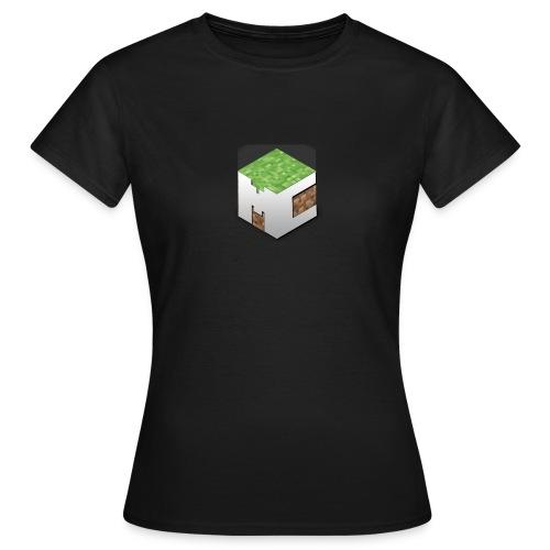 MineCraft 3D - Vrouwen T-shirt