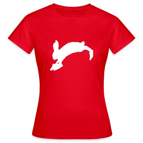 Bunny_Logo - Dame-T-shirt