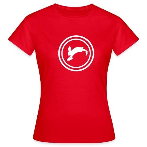 Bunny_Logo2 - Dame-T-shirt