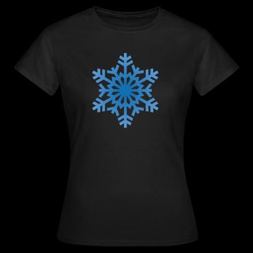 Snowflake - Dame-T-shirt