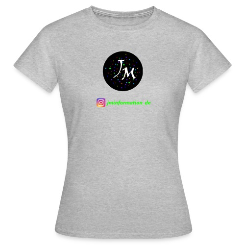 jminformation-Logo - Frauen T-Shirt
