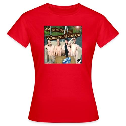 Velkommen Til Garasjen - T-skjorte for kvinner