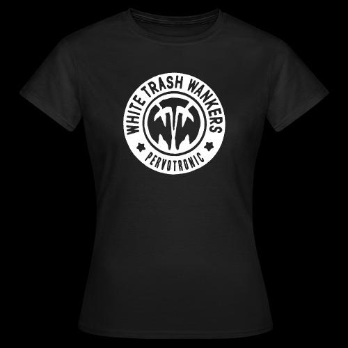 White Trash Wankers Pervotronic-Logo - Frauen T-Shirt