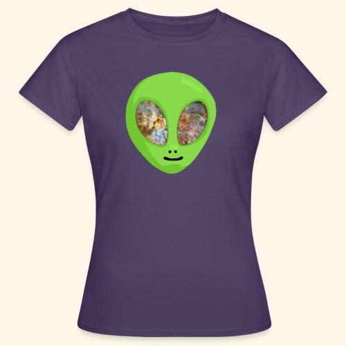 Alien hoofd 1 - Vrouwen T-shirt