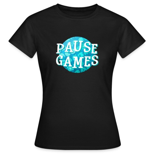 Pause Games New Design Blue - Women's T-Shirt