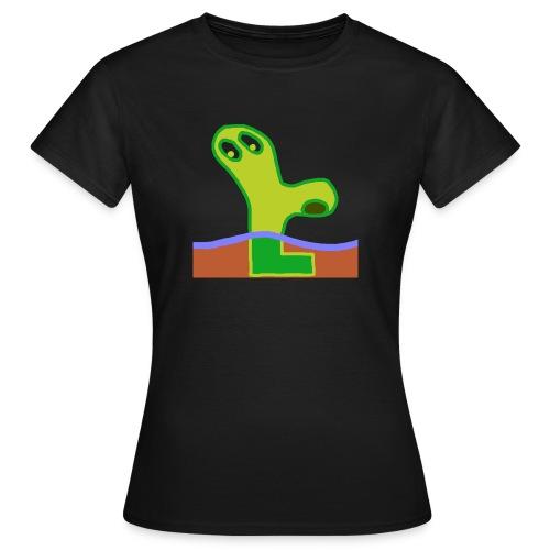 gruene nase 1 1 - Frauen T-Shirt