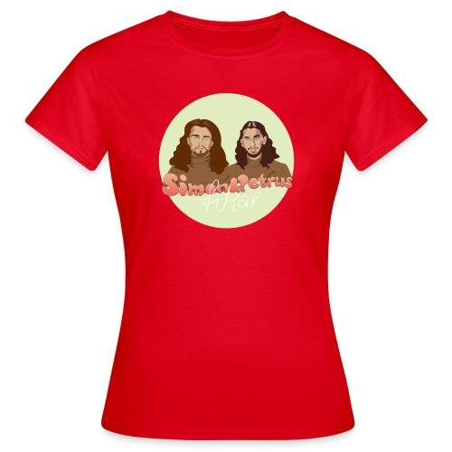 Simon och Petrus fikar - T-shirt dam