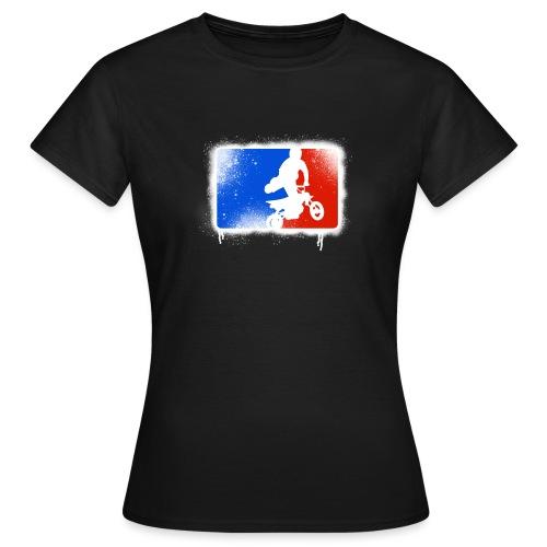 Pit bike's rider - T-shirt Femme